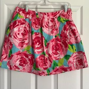 Euc 10 Lilly Pulitzer first impressions skirt hpfi